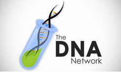 Mẫu Logo The DNA Network