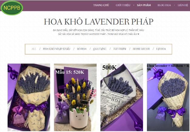 Top 10 website bán hoa khô – hoa tươi đẹp nhất